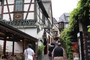 Die Drosselgasse in Rüdesheim am Rhein