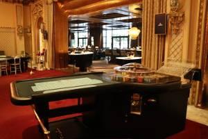 Ein Spieltisch im Casino Baden-Baden