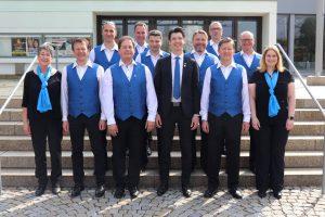 Der Vorstand des Männerchors Wörth am Rhein
